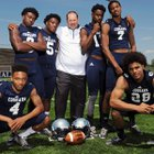 Clay-Chalkville Cougars Boys Varsity Football Fall 15-16 team photo.