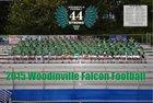 Woodinville Falcons Boys Varsity Football Fall 15-16 team photo.