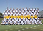 Lincoln Fighting Zebras Boys Varsity Football Fall 15-16 team photo.