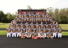 Tinley Park Titans Boys Varsity Football Fall 15-16 team photo.