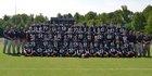Rockingham County Cougars Boys Varsity Football Fall 15-16 team photo.