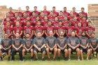 Ontario Jaguars Boys Varsity Football Fall 15-16 team photo.