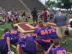 Danville Ironmen Boys Varsity Football Fall 15-16 team photo.