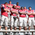 South Panola Tigers Boys Varsity Football Fall 15-16 team photo.