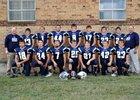 Southern Cloud co-op [Miltonvale/Glasco] Warriors Boys Varsity Football Fall 15-16 team photo.