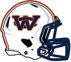 Wayne County War Eagles Boys Varsity Football Fall 15-16 team photo.