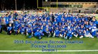Folsom Bulldogs Boys Varsity Football Fall 15-16 team photo.