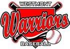 Westmont Warriors Boys JV Baseball Spring 16-17 team photo.