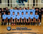 Otay Ranch Mustangs Boys JV Volleyball Spring 17-18 team photo.