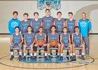 Cleveland Storm Boys Freshman Basketball Winter 15-16 team photo.
