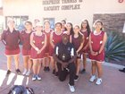 Kofa Kings Girls Varsity Tennis Spring 15-16 team photo.