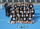 Mountain Range Mustangs Girls Varsity Tennis Spring 15-16 team photo.