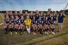 Gulf Breeze Dolphins Girls JV Soccer Winter 15-16 team photo.
