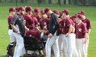 Quigley Catholic Spartans Boys Varsity Baseball Spring 18-19 team photo.