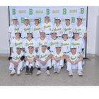 Bishop Blanchet Braves Boys Varsity Baseball Spring 18-19 team photo.