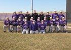 Hanford Falcons Boys Varsity Baseball Spring 18-19 team photo.