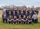 Highlands Golden Rams Boys Varsity Baseball Spring 18-19 team photo.