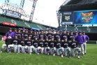 Garfield Bulldogs Boys Varsity Baseball Spring 18-19 team photo.