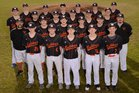 Waldron Bulldogs Boys Varsity Baseball Spring 18-19 team photo.