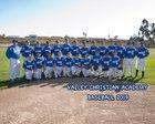 Valley Christian Academy Lions Boys Varsity Baseball Spring 18-19 team photo.