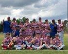 Wilmington Christian Academy Patriots Boys Varsity Baseball Spring 18-19 team photo.