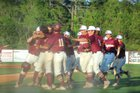 Coffee Trojans Boys Varsity Baseball Spring 18-19 team photo.