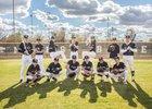 Mountain View Mountain Lions Boys Varsity Baseball Spring 18-19 team photo.