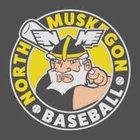North Muskegon Norsemen Boys Varsity Baseball Spring 18-19 team photo.
