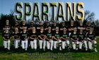 Red Bluff Spartans Boys Varsity Baseball Spring 18-19 team photo.
