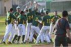 Castro Valley Trojans Boys Varsity Baseball Spring 18-19 team photo.