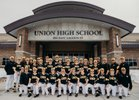 Union Cougars Boys Varsity Baseball Spring 18-19 team photo.