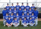 Papillion-LaVista South Titans Boys Varsity Baseball Spring 18-19 team photo.