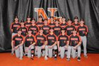 Hoover Vikings Boys Varsity Baseball Spring 18-19 team photo.