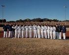 Silver Fighting Colts Boys Varsity Baseball Spring 18-19 team photo.