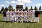 Clayton Yellowjackets Boys Varsity Baseball Spring 18-19 team photo.