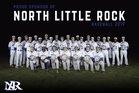 North Little Rock Charging Wildcats Boys Varsity Baseball Spring 18-19 team photo.