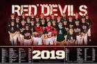 Port Barre Red Devils Boys Varsity Baseball Spring 18-19 team photo.
