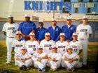 Rialto Knights Boys Varsity Baseball Spring 18-19 team photo.