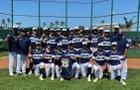 Bonita Vista Barons Boys Varsity Baseball Spring 18-19 team photo.