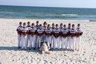 Walnut Ridge Bobcats Boys Varsity Baseball Spring 18-19 team photo.