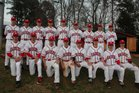 South Point Red Raiders Boys Varsity Baseball Spring 18-19 team photo.
