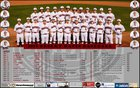 Desert Oasis Diamondbacks Boys Varsity Baseball Spring 18-19 team photo.