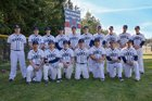 River Ridge Hawks Boys Varsity Baseball Spring 18-19 team photo.