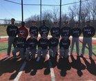 University/Classical Magnet Hawks Boys Varsity Baseball Spring 18-19 team photo.