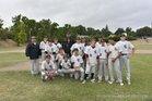 Clear Lake Cardinals Boys Varsity Baseball Spring 18-19 team photo.
