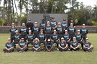 Plant City Raiders Boys Varsity Baseball Spring 18-19 team photo.