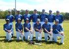 Nevada Blue Jays Boys Varsity Baseball Spring 18-19 team photo.
