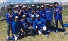 Thornton Trojans Boys Varsity Baseball Spring 18-19 team photo.