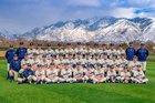 Juan Diego Catholic Soaring Eagle Boys Varsity Baseball Spring 18-19 team photo.
