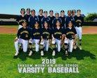 Shadow Mountain Matadors Boys Varsity Baseball Spring 18-19 team photo.